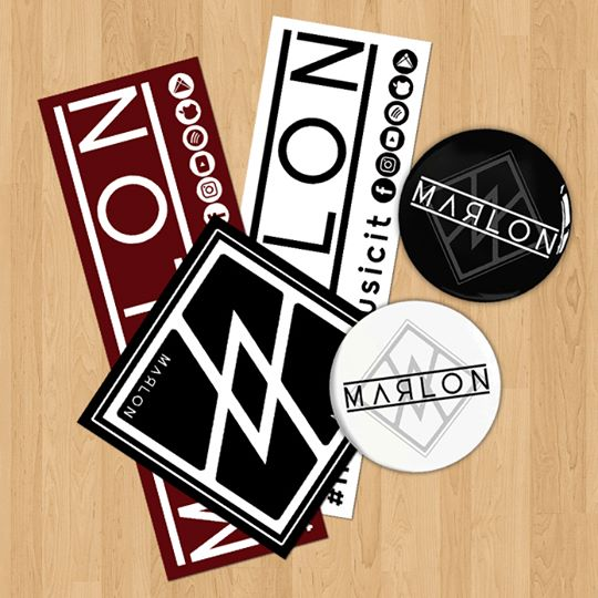 MARLON stickers pin pins