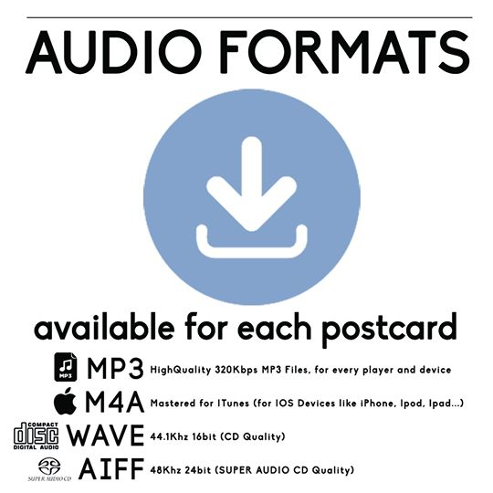 postcard postacrds song songs
